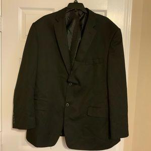 Black sports coat size 46 R